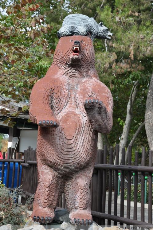 San Diego Lego Land California Resort 加以州圣地亚哥(圣迭戈)乐高乐土一瞥攻微 - 小雅 - 小雅与兜兜长记